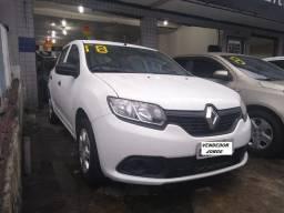 Renault Sandero Authentique 1.0 completo _ (sugestão) entrada 6.500 + fixas 523,00