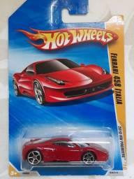 Carrinho Miniatura Hot Wheels Ferrari 458 Italia Lacrado