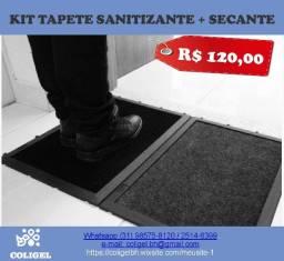 Kit Tapete Sanitizante + Secante Modular