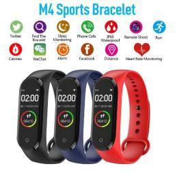 Pulseira Inteligente Smartband M4 Monitor Cardíaco Relógio