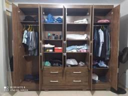 Guarda roupa 8 portas