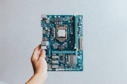 Placa Mãe - Motherboard Gigabyte Ga-H61M-DS2H - 4gb Ram - Intel i3