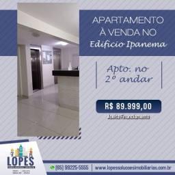 Vendo Ótimo Apartamento No Edifício Ipanema
