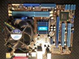 Placa Asus P5G41T c/  Processador XEON