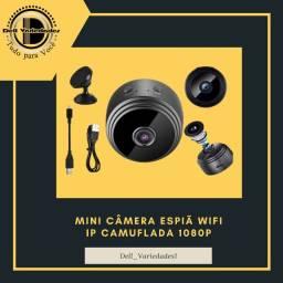 Mini Câmera Espiã Wi-fi 1080p - Produto novo. Dell Variedades.