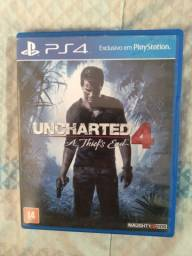 Uncharted 4( jogo de ps4)