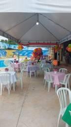 Locação de espaço para festas com piscina na região do CPA