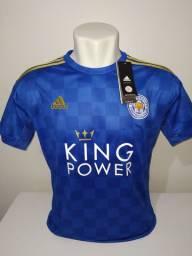 Camisa Leicester City 2019/20 Adidas - Pronta-entrega