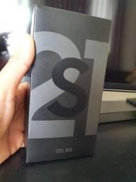 Samsung Galaxy S21 128gb cinza lacrado