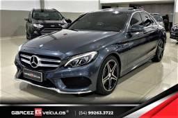 Mercedes Benz C250 Sport Apenas 38 mil Km Interno Vermelho Impecável Pneus Novos