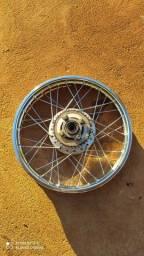 Par roda Fan, com coroa 38 boa, e para freio a disco
