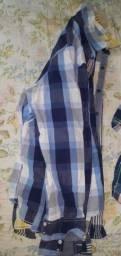 Camisas sociais manga comprida