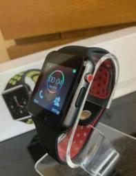 Relógio Smartwatch K1 Bluetooth e entrada para chip