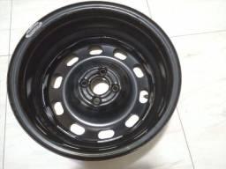 Roda de ferro R15 4 furos original Vw