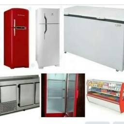 Título do anúncio: Conserto de geladeira domésticos e comercial