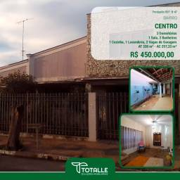Título do anúncio:  Casa para Venda no bairro Centro, localizado na cidade de Penápolis / SP. (330 m²)