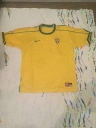 Camiseta Seleção Brasileira 1998