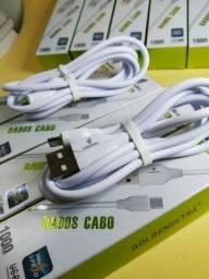 Cabo  USB v8 Goldenultra 1m Micro  carregamento e dados.