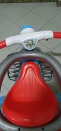 Triciclo velotrol velocita com buzina elétrica