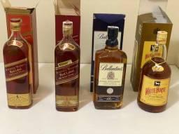4 Whiskys Antigos Variados