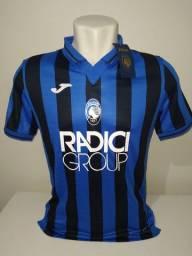 Camisa Atalanta Itália 2019/20 Joma - Pronta-entrega
