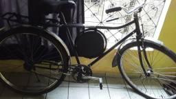 Bicicleta monark semi nova preta