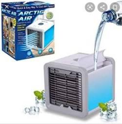 Mini ar condicionado portátil gela,purifica