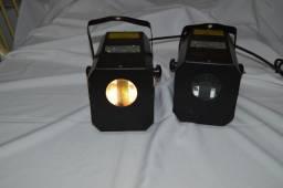 Iluminação Efeito Retrô 90 - MH 100 Star Light Tec Port - 2 máquinas