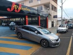 New Civic LXR 2.0 Flex AT. 2015 Cinza Baixo KM