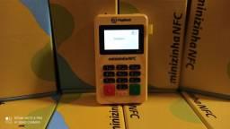 Aceite cartões com a Minizinha NFC