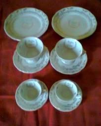 Porcelana Schmidt Bodas de Ouro e Prata
