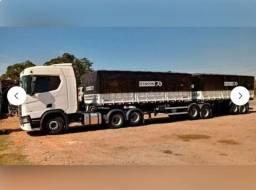 Scania R450 6X2 C/ Bi-trem Randon ano 2019 - Unico dono