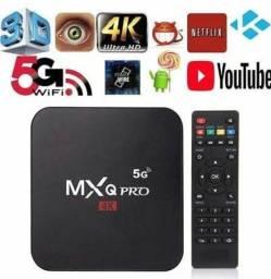 TV Box, Assista filmes e series mais 2000 canais, converta Tv em Smart
