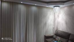 Vendo forno elétrico, cortina persiana e sofá
