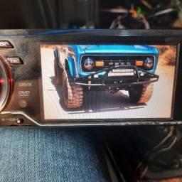 Som automotivo dvd pendrive Bluetooth