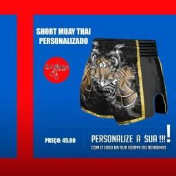 Fazemos short muay thai personalizado