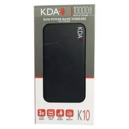 Título do anúncio: Carregador Portátil por Indução ou Cabo KDA K10