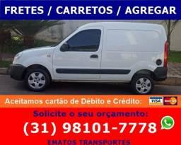 Fretes / Carretos / Agregar