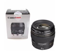 Lente Canon Ef 85mm F/ 1.8 Usm