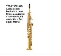Sax Soprano Yamaha - Japan (Escolha o modelo)