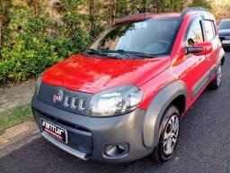 Fiat Uno Way Evo 1.0 Vermelho