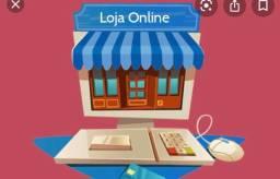 Oportunidade : Loja online com redes sociais e material