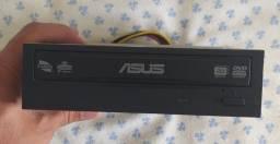 Gravador Interno -SATA-DVD/CD-Asus DRW-24B5ST Preto