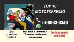 Moto expresso top10 faça seu orçamento corridas Apartir de $9,99