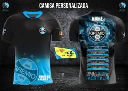Camisas Grêmio Personalizadas