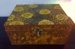 Porta joias marroquino 3 compartimentos