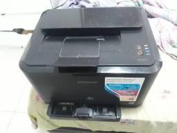 Impressora Laser colorida Samsung CLP 315 com defeito