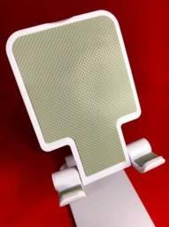 <br>Suporte Para Celular E Tablet Dobrável Ajustável Apoio Mesa