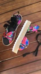 Sandália Flatform tamanho 37/38