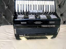 Acordeon todeschini super 5